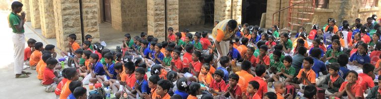 Feb 2017 – A day with Kids in a Govt. School in Bangalore