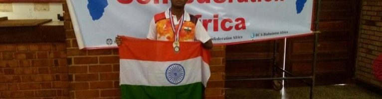 Apr 2017 – Support for Abbas Sugil for Uganda Para – Badminton International 2017 Participation