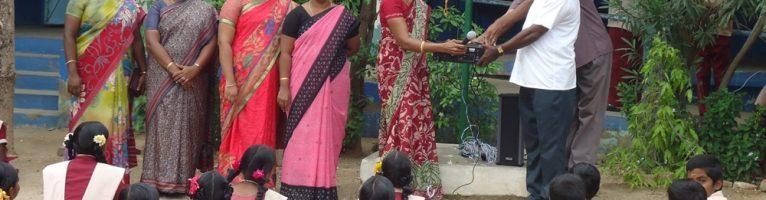 Jun 2015 – Microphone Set Donation to Govt. School