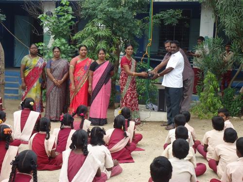 School Donation Jun 2015